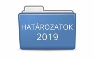 Határozatok 2019