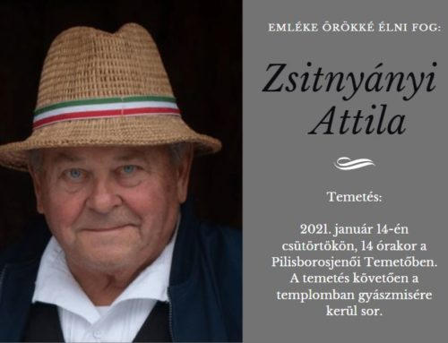Zsitnyányi Attila temetése