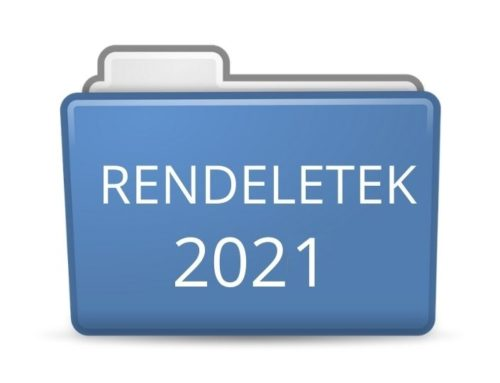 2021. évi rendeletek